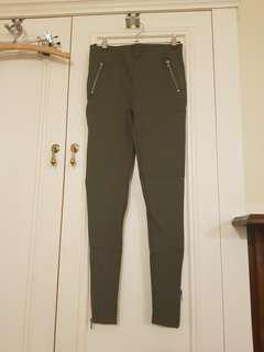Glasson khaki leggings