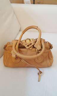 Chloe inspired Paddington leather bag