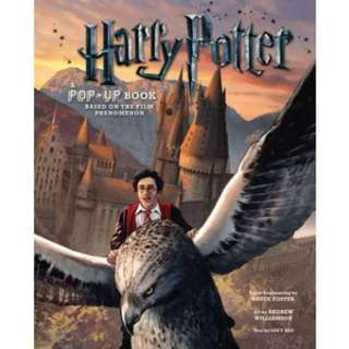 🚚 [PRE-ORDER[ Harry Potter: A Pop-Up Book by Bruce Foster, illustrated by Andrew Williamson
