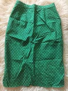 Green Polkadot rok