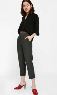 Paklyn Belted Cropped Pants