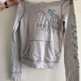 Abercrombie Jacket Hoodie Grey
