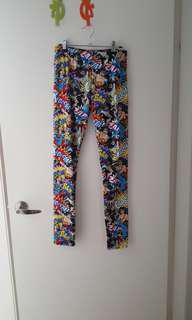 Brand New DC Comics Leggings Medium