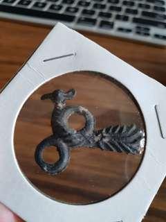 Malaya Animal Tin Coin Rare