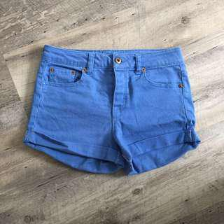 Teal Blue F21 Shorts