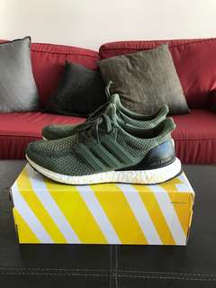 Ultra boost 2.0 Olive Green - US 10.5