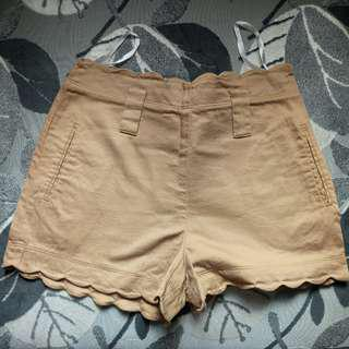 Forever New Scallop Shorts