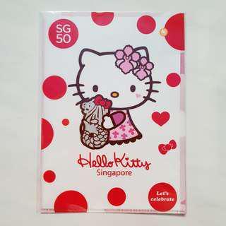Sanrio Hello Kitty Singapore SG50 Merlion