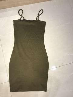 BN cotton on bodycon dress