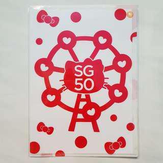 Sanrio Hello Kitty Singapore SG50