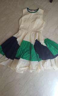 Cotton flare dress