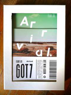 GOT7 Flight Log Arrival [UNSEALED] Ever ver.