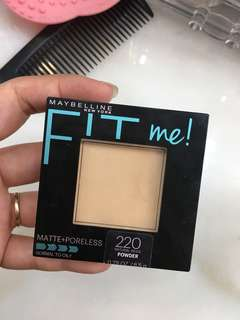 Maybelline Fit Me Powder (bedak padat)