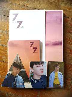 GOT7 7 FOR 7 ALBUM WITH PC [UNSEALED]