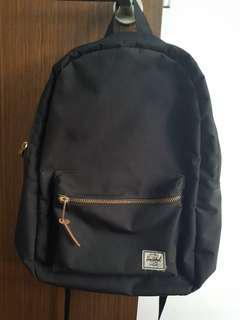 Authentic Black Herschel Backpack