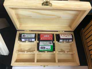 Wood film collection case