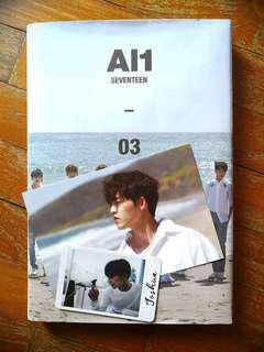 SEVENTEEN AL1 ALBUM WITH PC [UNSEALED]
