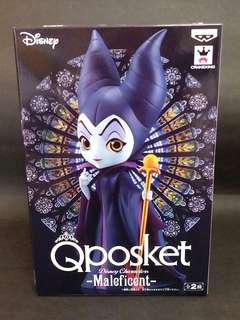 (Brand New) Qposket Maleficent Figure (全新) 黑魔后 特別版 Figure