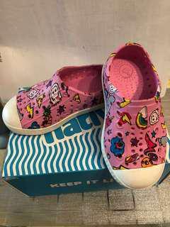 Native 專業設計保護幼童腳鞋