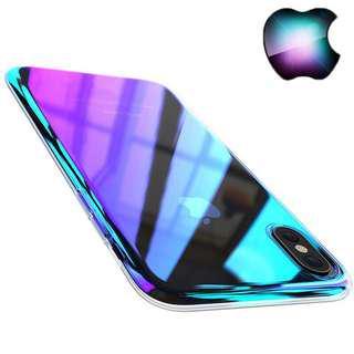 iPhone X Aurora Gradient Case