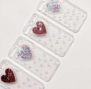 (PO) iPhone Heart Case