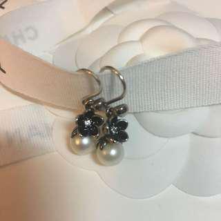 Pandora earrings 純銀 珍珠 耳環 pearl 925 silver