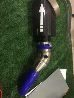 Cold intake pipe w s/steel