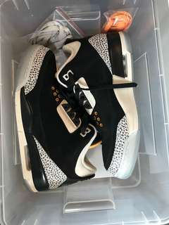"Air Jordan 3 ""atmos"" size US9"
