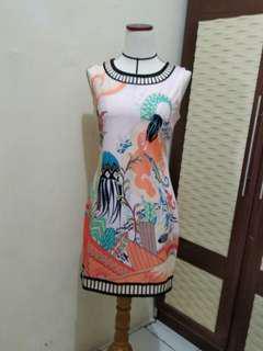 Dress Motif Laut