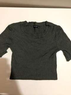 Bershka knit top