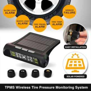 New Solar Power TPMS Wireless Tire Pressure Monitoring System★Tyre TPMS