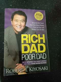 (Autographed Copy) Rich Dad Poor Dad