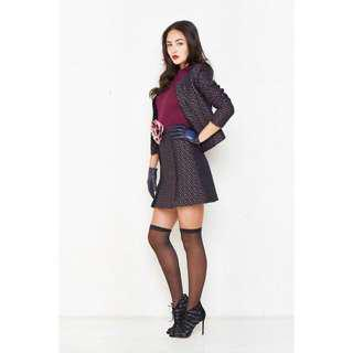 Alannah Hill Tweed Jacket Size 8 (brand new)