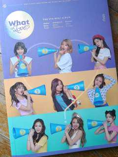 TWICE WHAT IS LOVE ALBUM [UNSEALED]