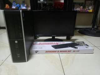 HP Conpaq 8000 core i5 2nd gen 19inc led samsung