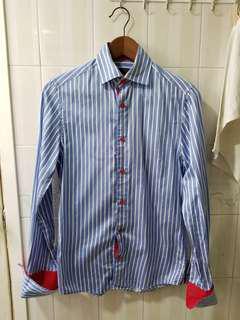 H&M 返工恤衫 size S 扣袖口鈕款