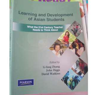 Learning and development of Asian students - What the 21st century teacher needs to think about