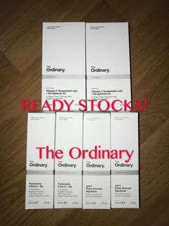 🆕The Ordinary Ready Stocks