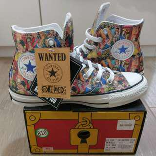 Converse All Star 1970s 100th x One Piece PT HI Japan Limited