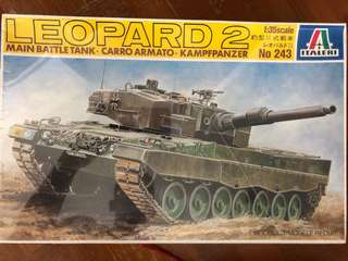 🚚 1/35 scale Leopard 2 main battle tank model kit