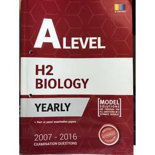 H2 Biology TYS (Yearly)