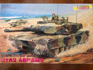 🚚 1/35 scale M1A2 Ambrams tank