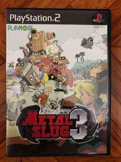 PS2 Metal Slug 3 遊戲 一隻