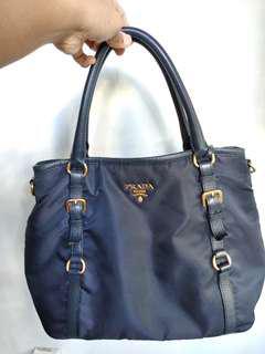 Prada BN2106 Hand Bag with Sling