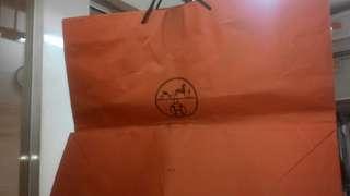 Paper bag hermes