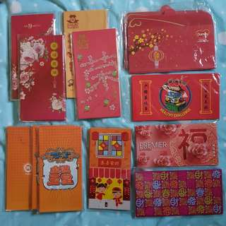 Red Packets, various design.