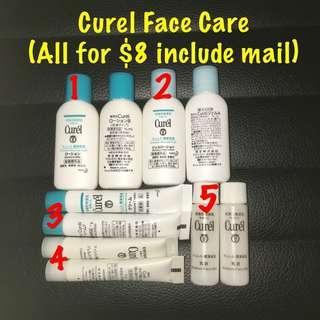Curel Face Care Set