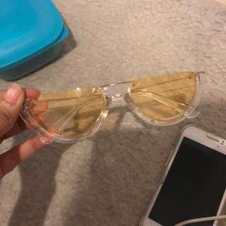 Watermellon yellow glasses
