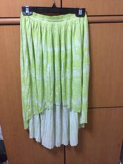 American Eagle Outfitters high low skirt