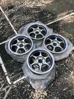 "Original Advan RG 14"" 6.5jj Offset 23 PCD 100"
